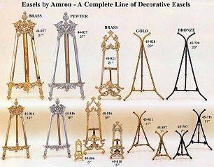 Custom Easels