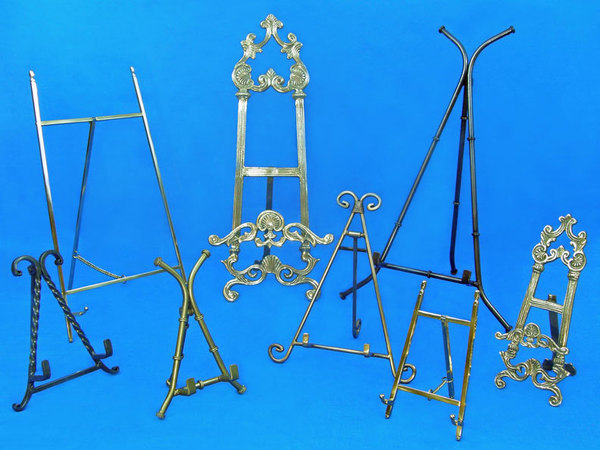 large selection of display easels and decorative easels for all your
